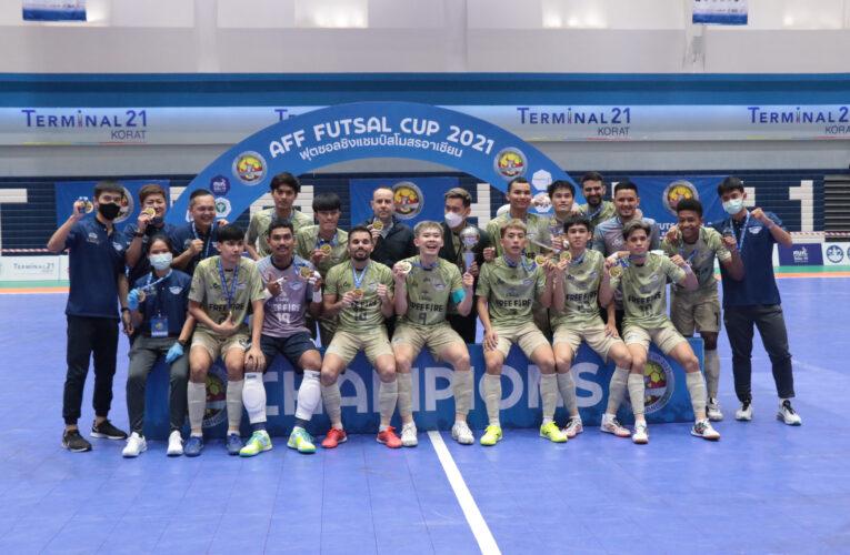 ฟรีไฟร์ บลูเวฟ ชลบุรี คว้าแชมป์อาเซียนหลังเสมอ การท่าเรือ 3-3